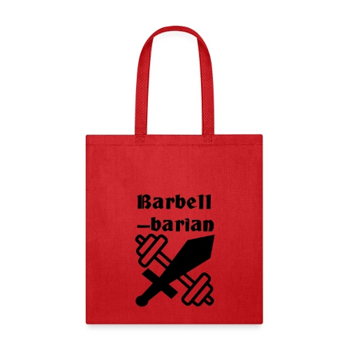 Barbell-barian - Tote Bag