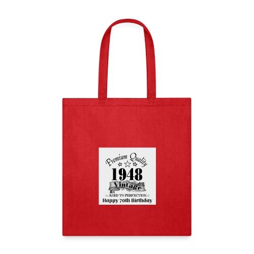 70th Bday - Tote Bag