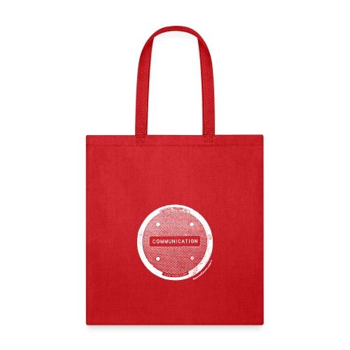 CommunicationWhite - Tote Bag