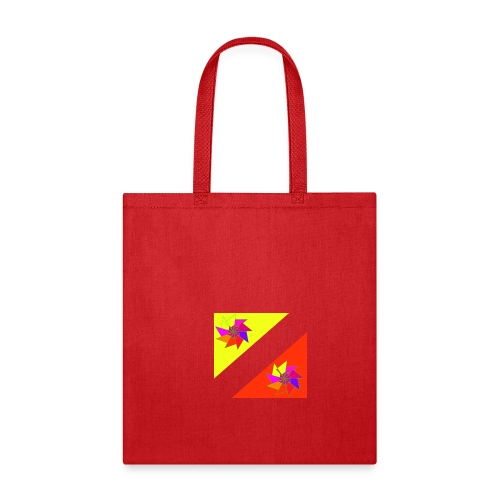 spiral in triangle - Tote Bag