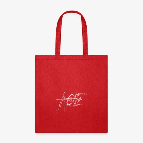AOE Logo M1 White - Tote Bag