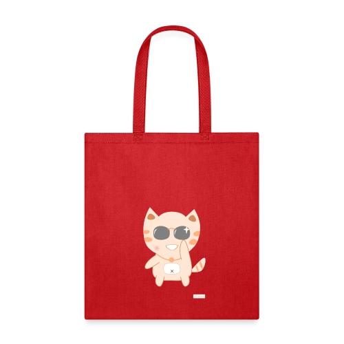 CutiCat with Sunglass - Tote Bag