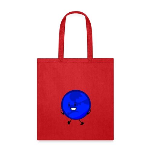 Walking blue planet - Tote Bag