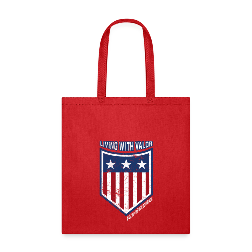 Living with Valor - Tote Bag
