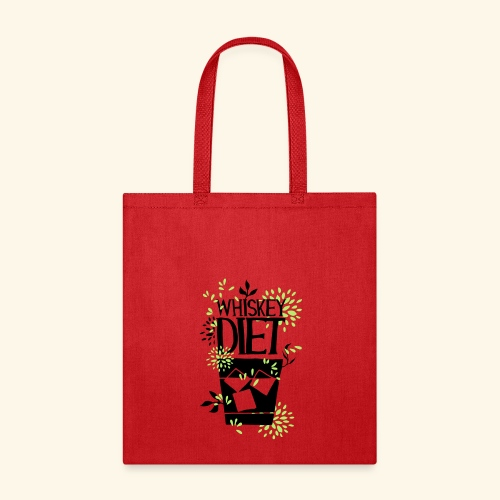 WHISKEY DIET T-SHIRT MEN / WOMEN - Tote Bag