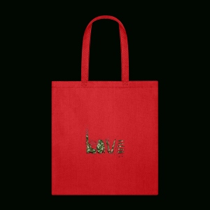 Love and War - Army - Tote Bag
