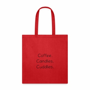 Coffee Candles Cuddles - Tote Bag