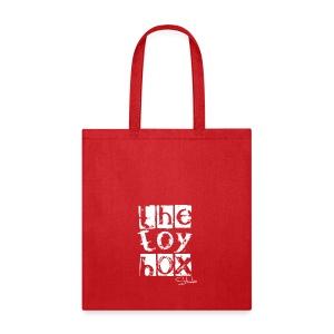 The Toy box Studio - White Logo - Tote Bag