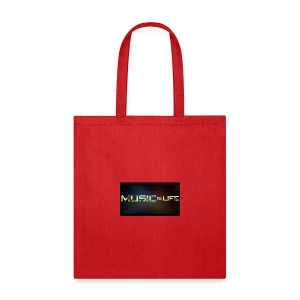 Music quote t-shirt - Tote Bag