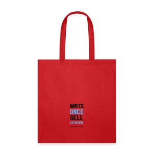 Write Once Sell Anywhere - Tote Bag