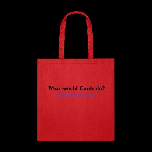 Cayde Tshirt Text - Tote Bag