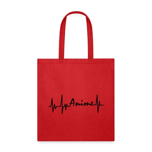 Anime Heartbeat - Tote Bag