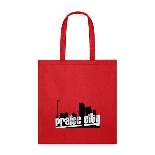 Praise City Skyline1 RB - Tote Bag