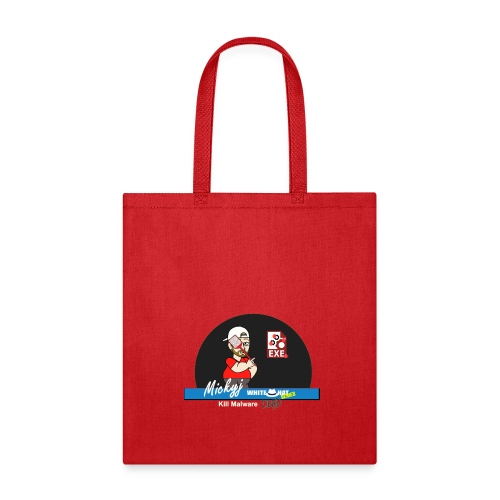 Mickyj - Kill malware dead (Red) - Tote Bag