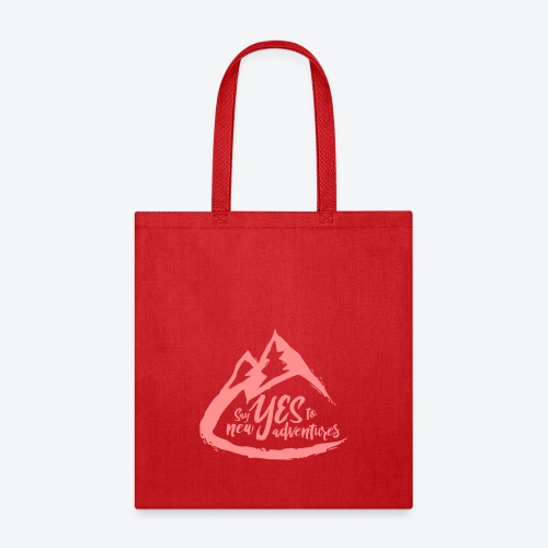 Say Yes to Adventure - Coloured - Tote Bag