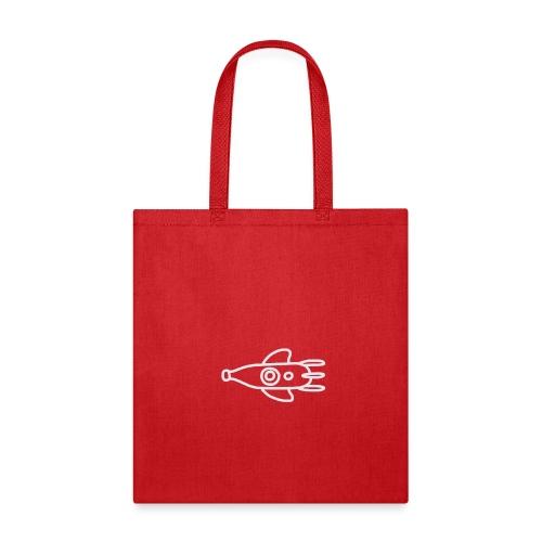 doodle logo (blanc) - Tote Bag