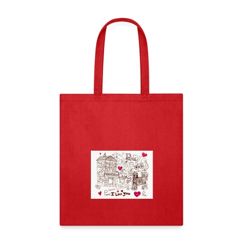 parís lovers - Tote Bag