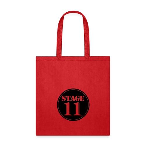stage11 logo circle TRANSPARENT - Tote Bag