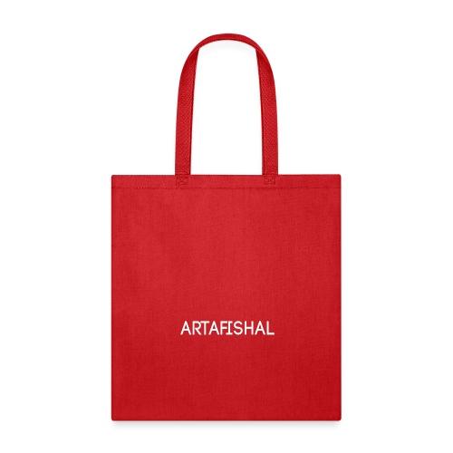 Artafishal White - Tote Bag