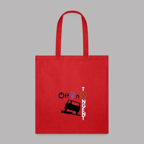 Off On A Tangent - Tote Bag