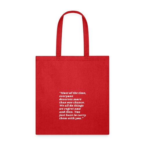 t-shirt most of the time - Tote Bag