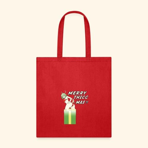Christmas Art - Reindeer Merry Thicc Mas - Tote Bag