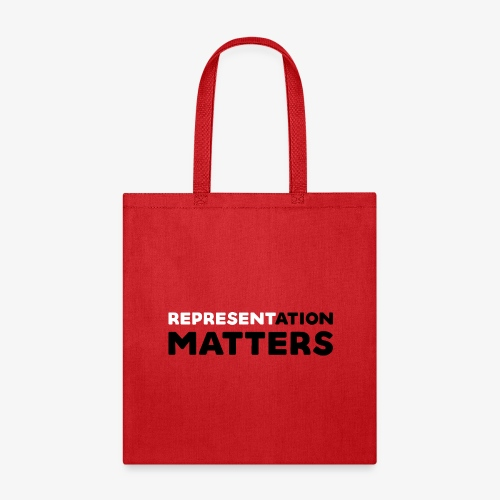 Representation Matters - White - Tote Bag