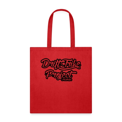 Drift Trike Project clear black2 png - Tote Bag