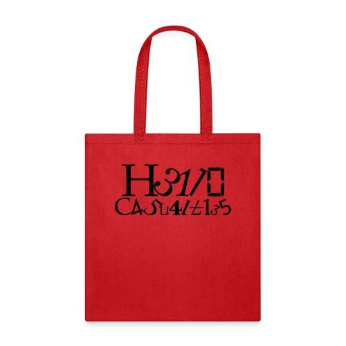 Hello Casualties Leet - Tote Bag