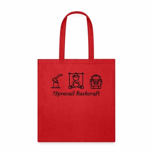 13prevail bushcraft - Tote Bag