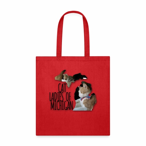 Cat Ladies of Michigan - Tote Bag