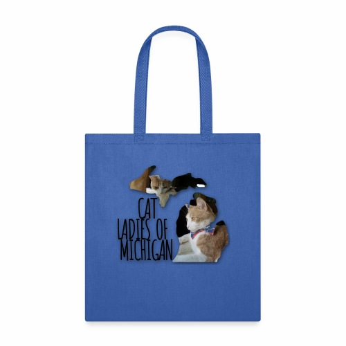Cat Ladies of Michigan - Tote Bag