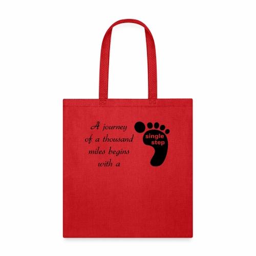 Single Step - Tote Bag