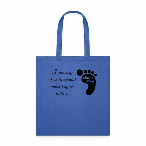 Single Step - Tote Bag
