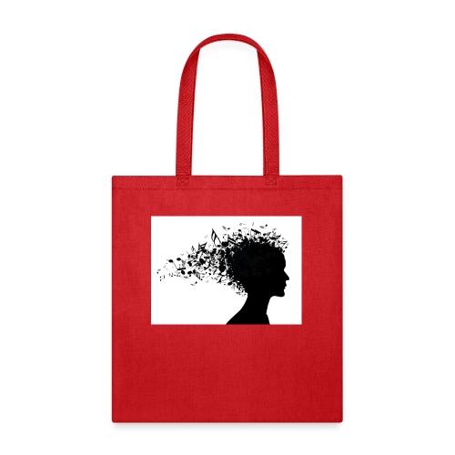 music through my head - Tote Bag