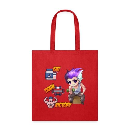 EAT TRAIN VICTORY - Tote Bag