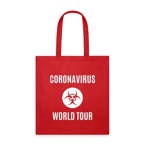 CORONAVIRUS WORLD TOUR - Tote Bag