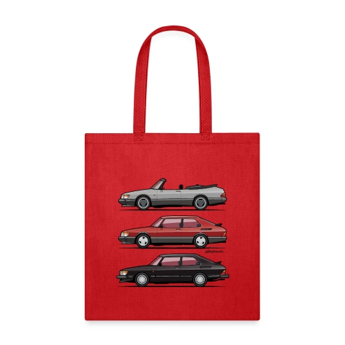 Saab 900 Turbo Trio - Tote Bag