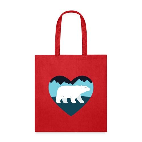 Polar Bear Love - Tote Bag