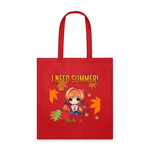 I NEED SUMMER - CARMEL - Tote Bag