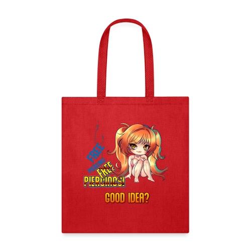 FREE PIERCINGS - Tote Bag