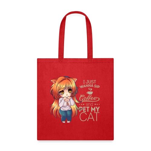 SIP COFFEE PET CAT - Tote Bag
