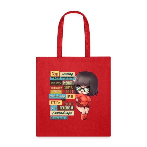 CAUGHT YOU - Tote Bag