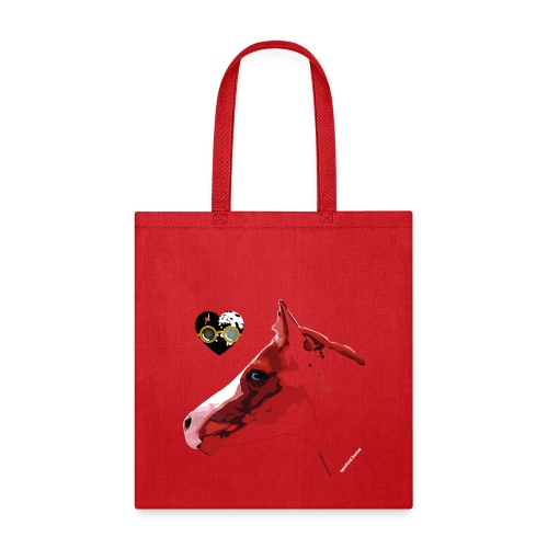 Spotted.Horse Appaloosa Colt Red - Tote Bag
