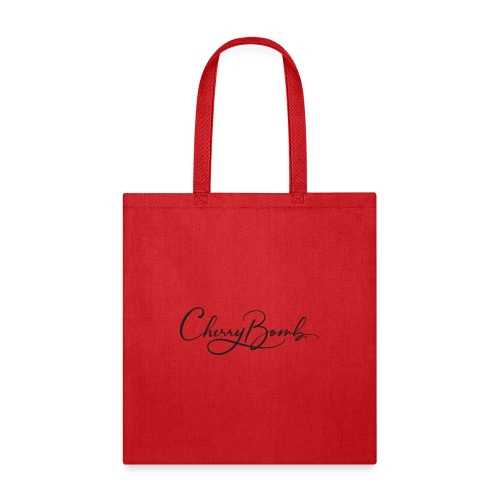 Cherry Bomb Black - Tote Bag