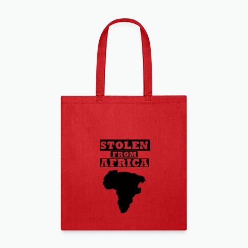 STOLEN FROM AFRICA LOGO - Tote Bag