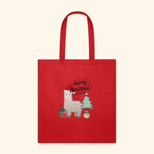 Christmas Lama - Tote Bag