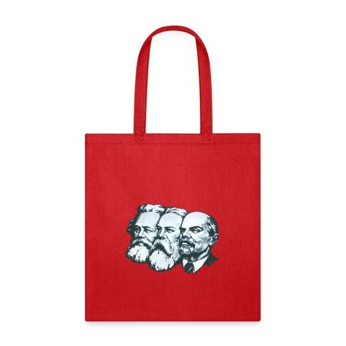 Marx, Engels and Lenin - Tote Bag