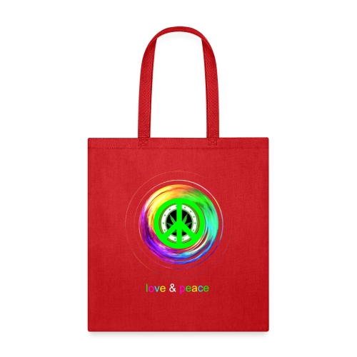 Love And Peace - Tote Bag