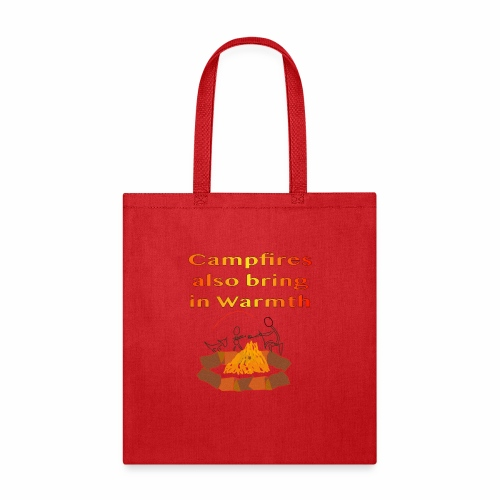 Around the Campfire - Tote Bag